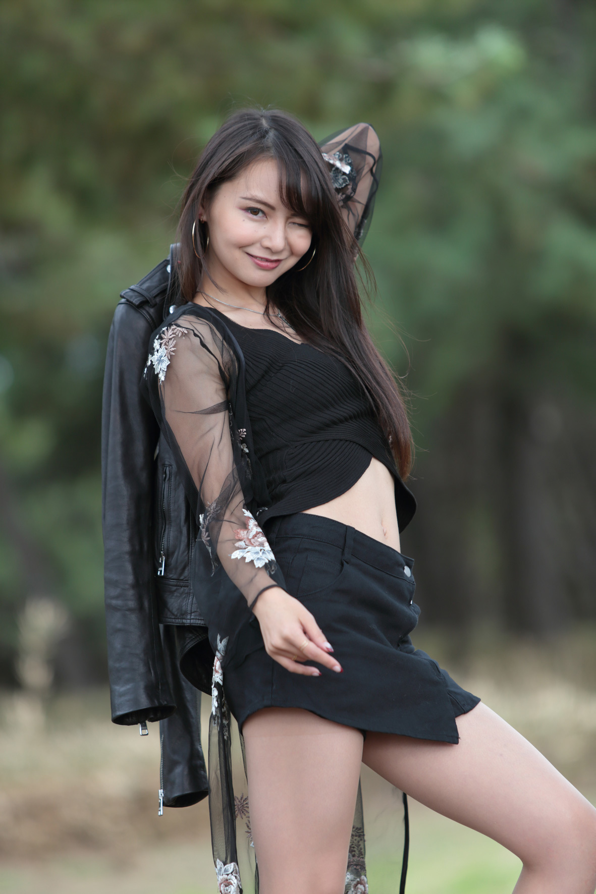 ATID-464最强舞者桜香美羽更改艺名之后被强制解除封印 (1)