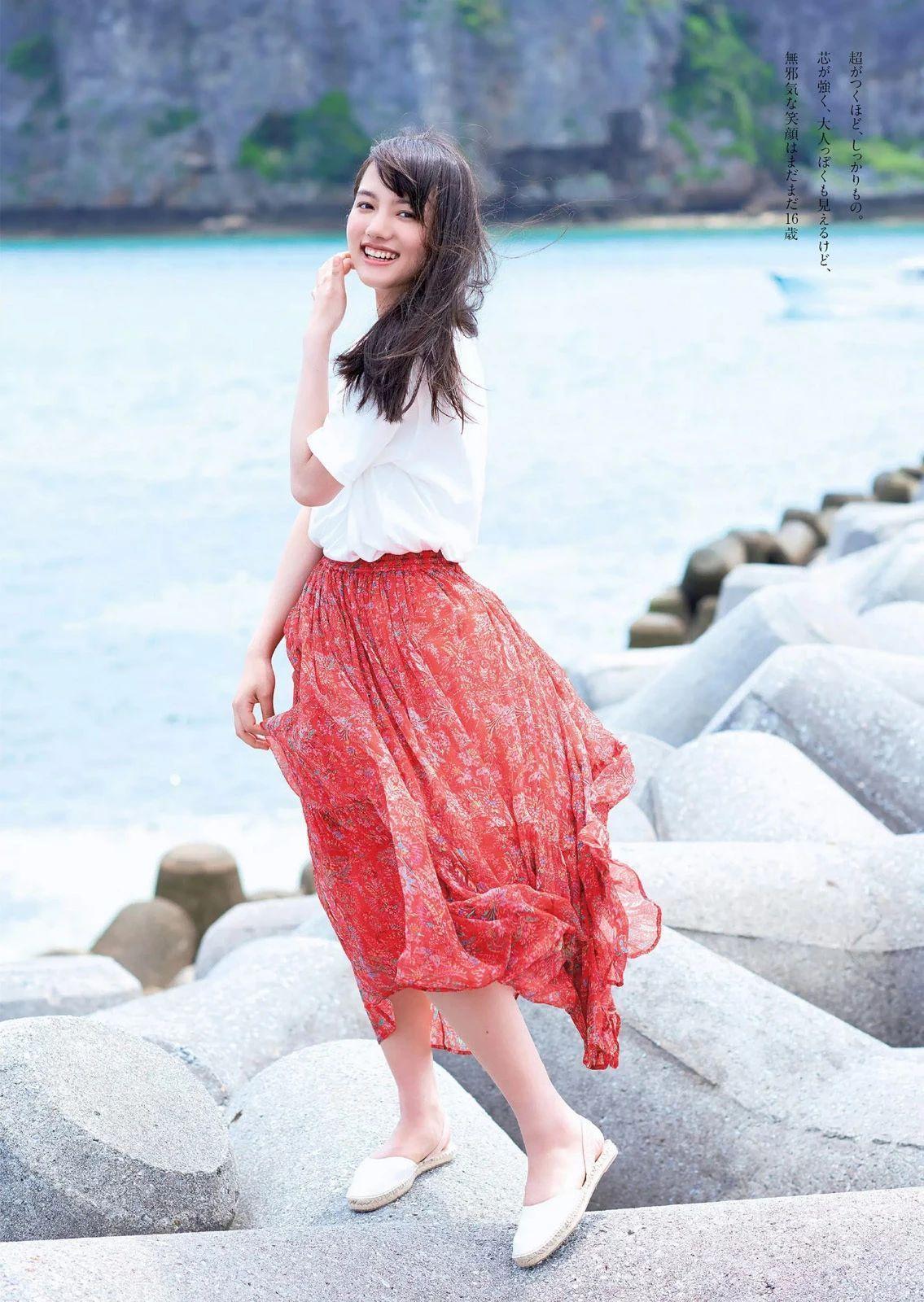 唇红齿白甜美微笑的清原果耶写真作品 (21)