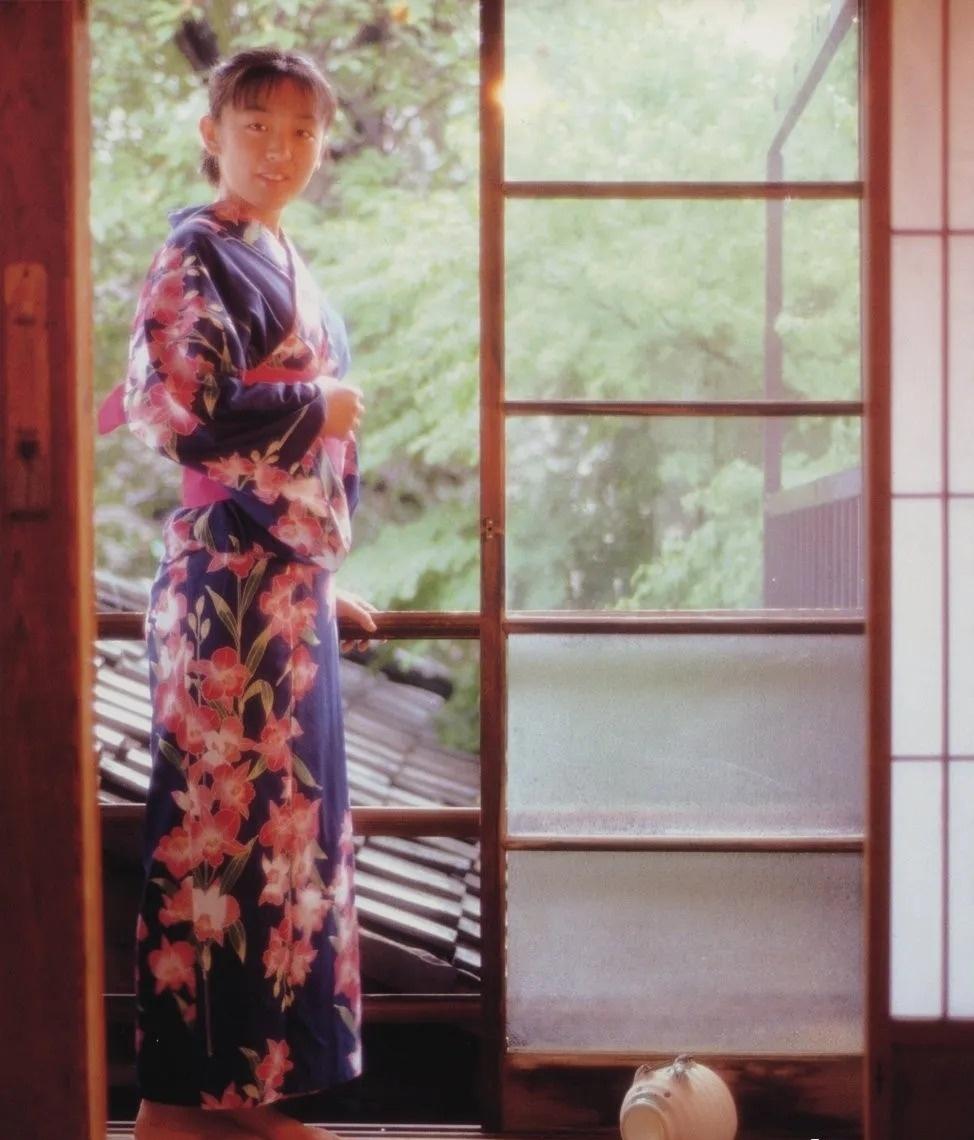 清纯玉女17岁情书中的酒井美纪写真作品 (140)