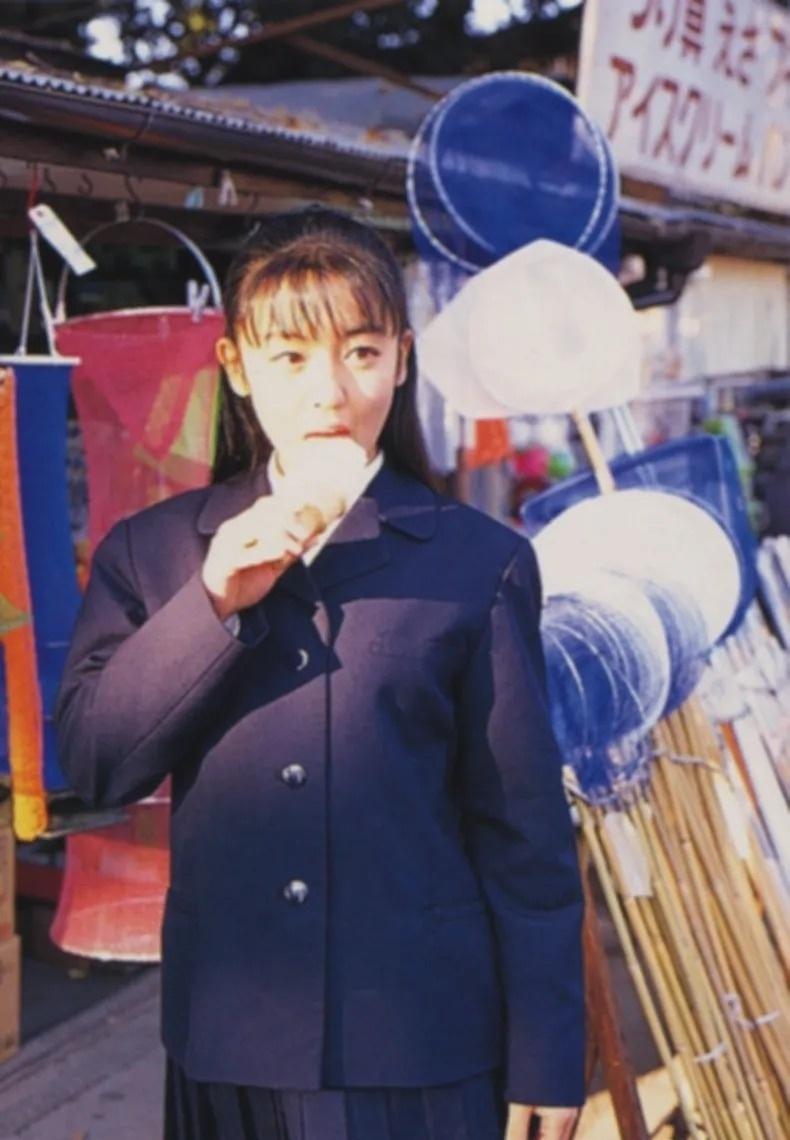 清纯玉女17岁情书中的酒井美纪写真作品 (152)