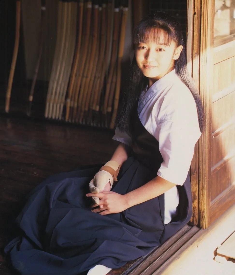 清纯玉女17岁情书中的酒井美纪写真作品 (3)