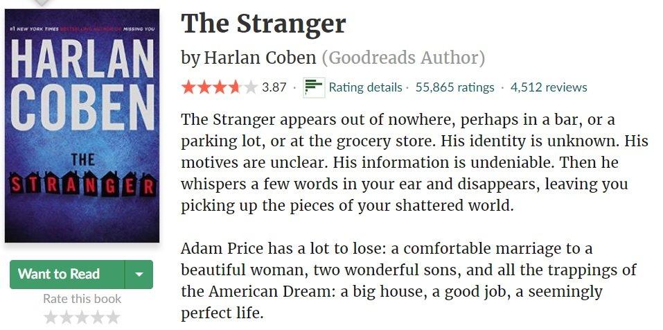 英剧陌生人The Stranger 有些秘密不知道比较幸福Netflix-MP4吧