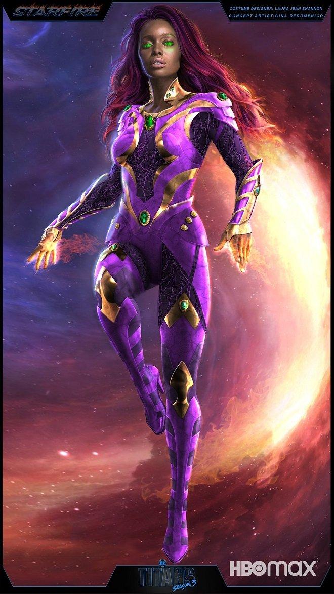 《泰坦》曝「星火」第三季全新造型!紫色战袍应战「黑火」攻击-MP4吧