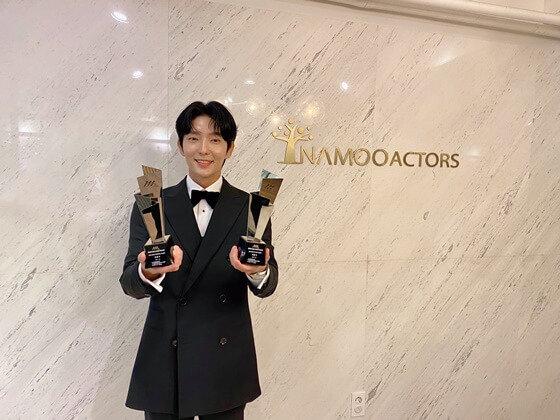 2020 AAA颁奖典礼星光熠熠,金秀贤、徐睿知合体亮相,宋智孝、朴珍荣获粉丝认证最佳人气演员-MP4吧