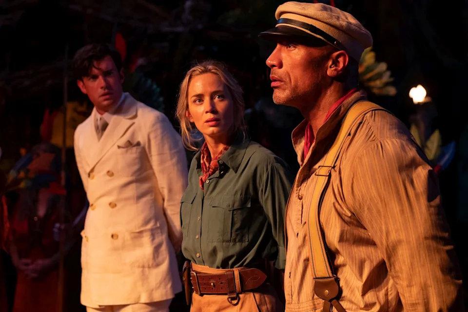 《丛林奇航》巨石强森联手艾蜜莉布朗深入亚马逊探险笑料百出-MP4吧