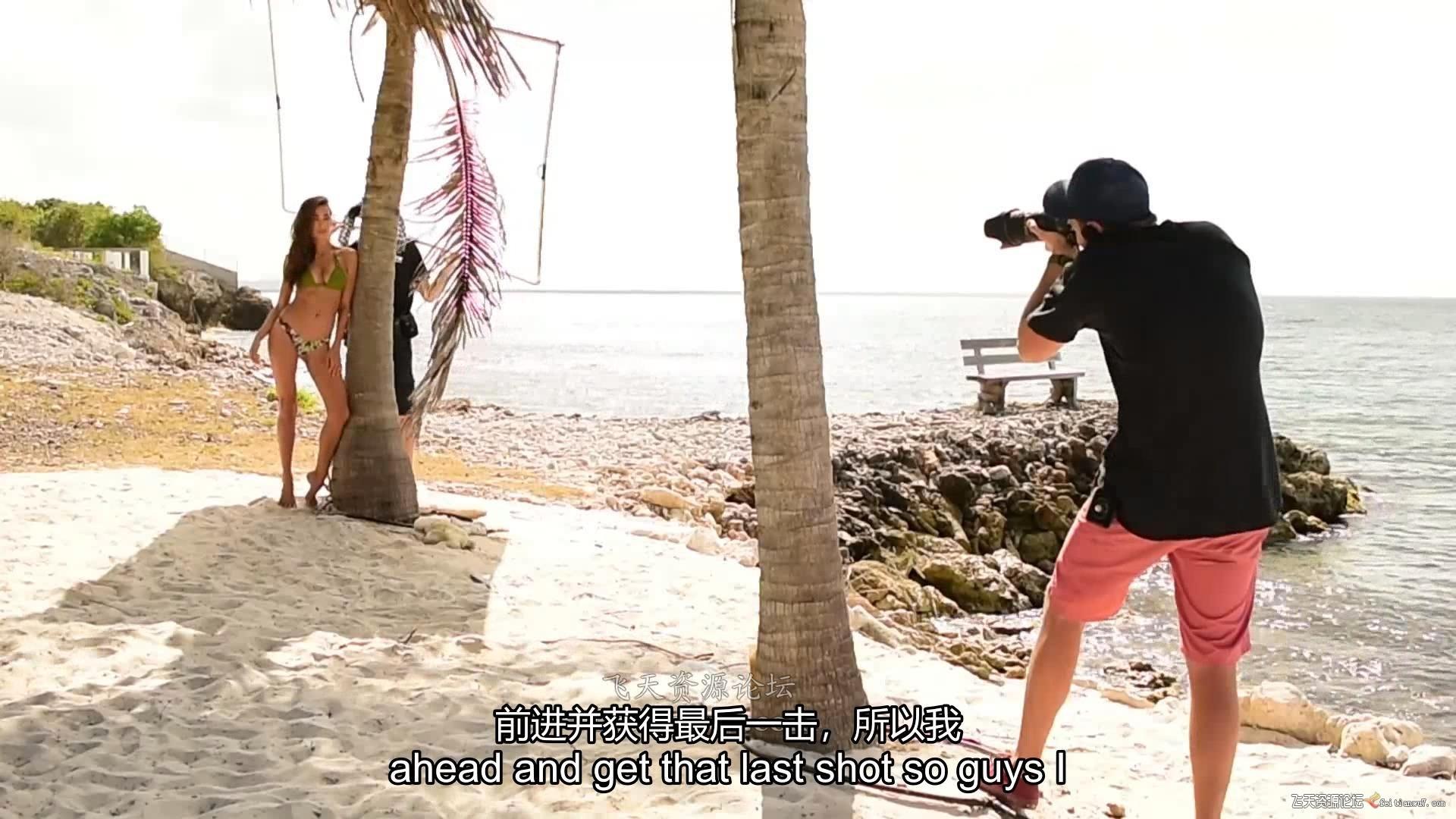 摄影教程_Fstoppers - Joey Wright商业泳装摄影-布光摆姿修饰教程(中英字幕) 摄影教程 _预览图19
