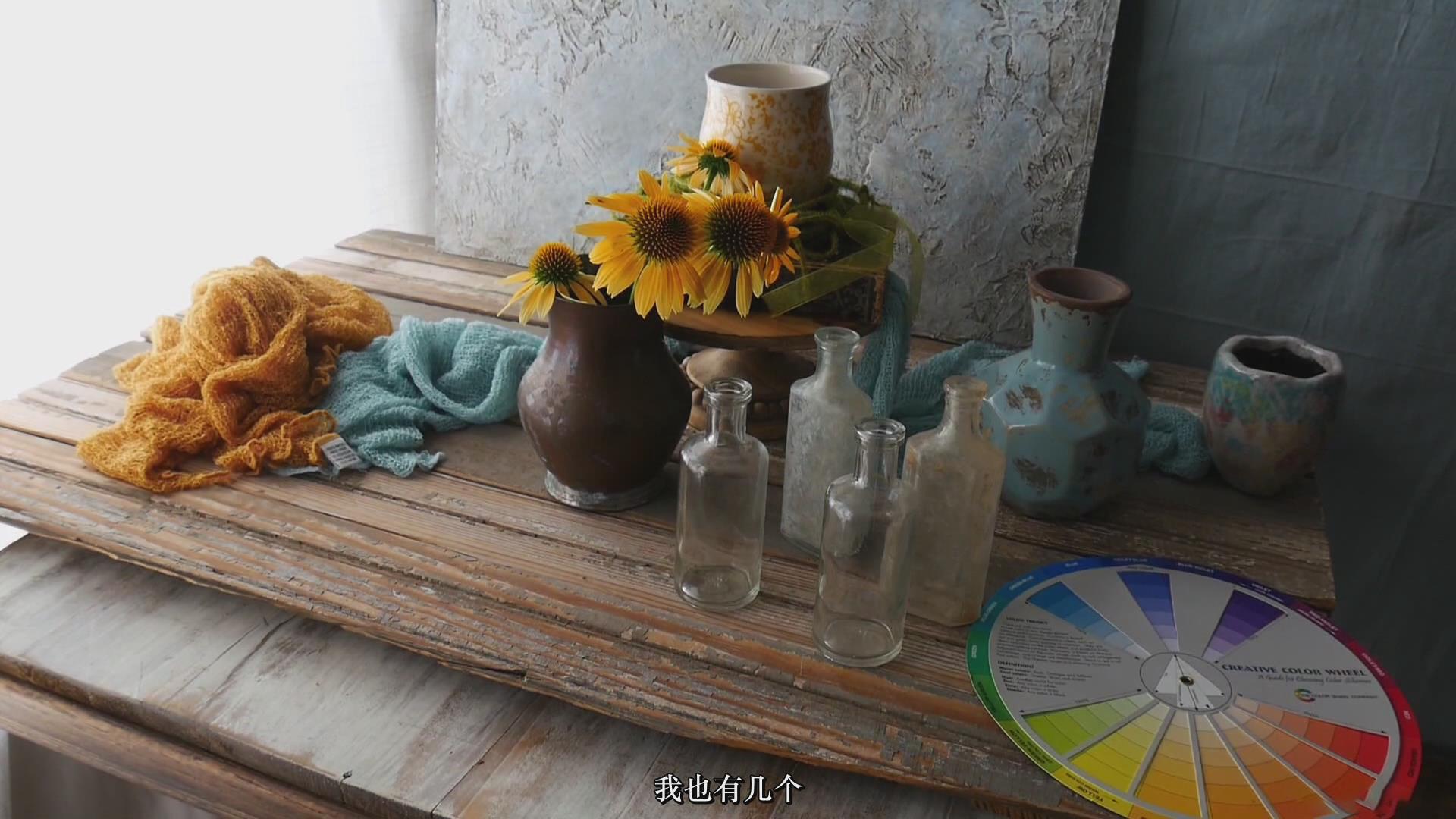 摄影教程_Lenslab –静物花卉产品摄影掌握色彩突破艺术界限研讨会-中文字幕 摄影教程 _预览图25