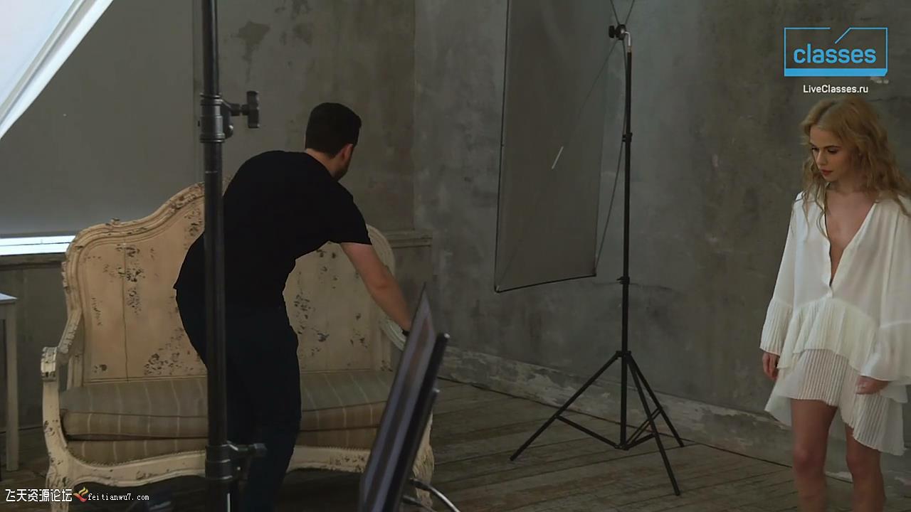 摄影教程_Liveclasses -Alexander Talyuka棚拍模拟自然光人体私房摄影-中文字幕 摄影教程 _预览图10