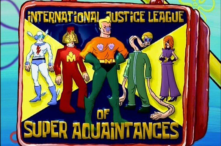 这个组织你该怕!《海绵宝宝》版「正义联盟」集结!拥有超能力却经常搞砸的一行人-MP4吧