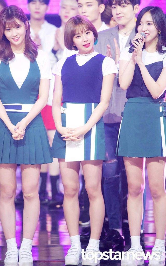 韩国女团都是大长腿?其实这些女团成员身高都没超过160插图7