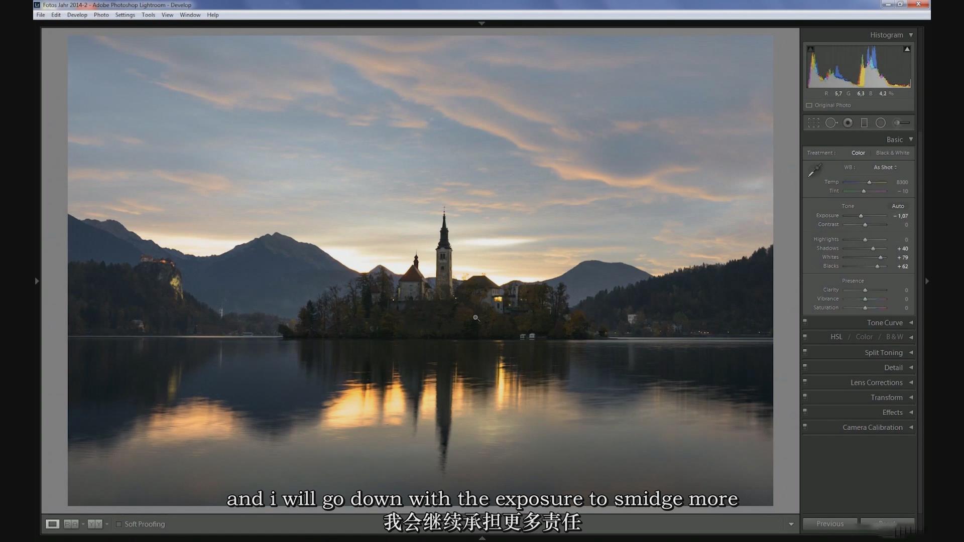 摄影教程_Daniel Fleischhacker景观和自然风光摄影Photoshop后期大师班-中英字幕 摄影教程 _预览图8