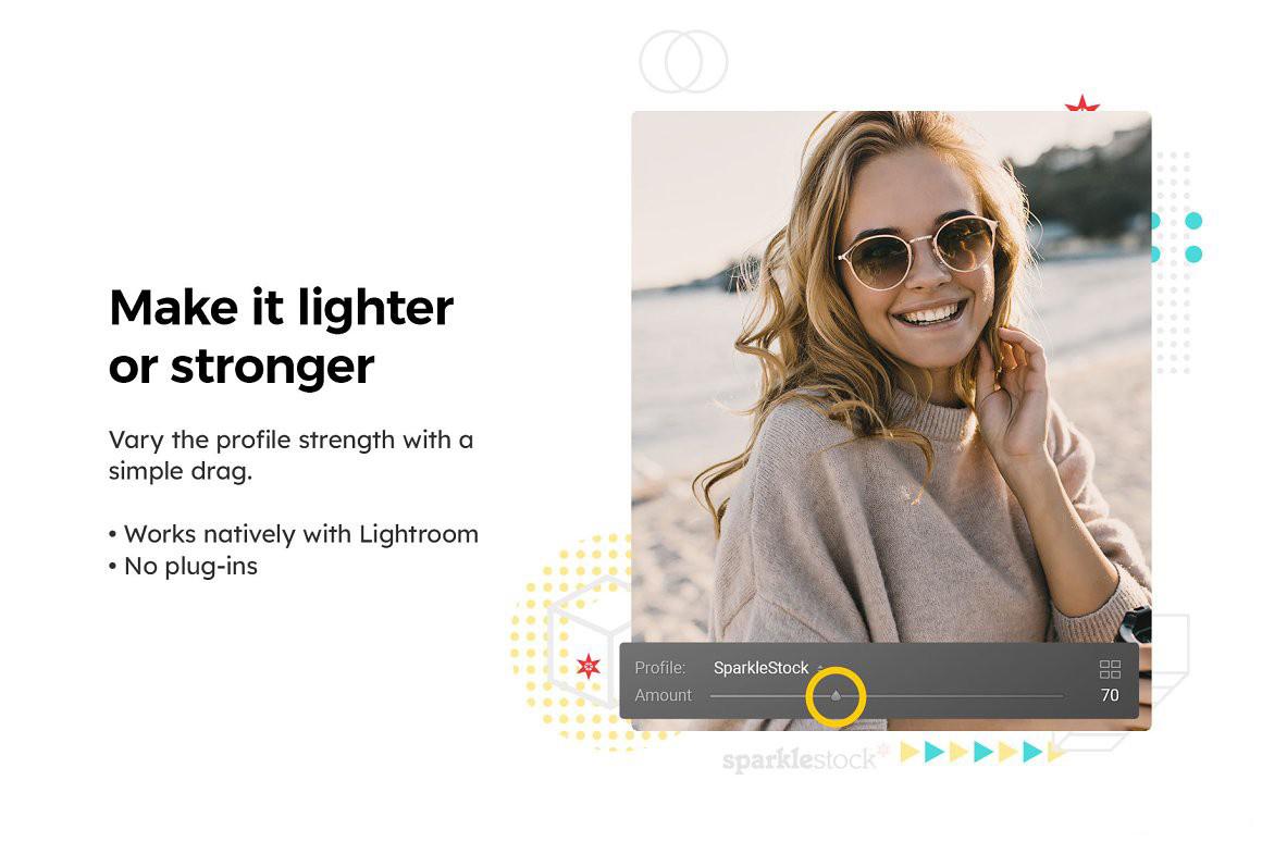 20个沿海旅拍风光人像电影胶片Lightroom预设APP预设和旅行视频调色LUT预设 Lightroom预设_效果图7