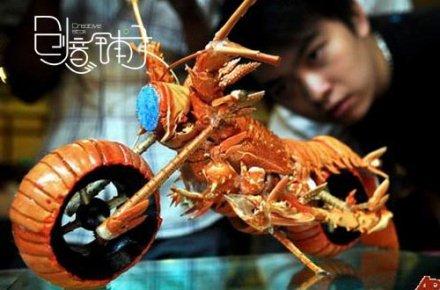 吃完龙虾还可以玩出这么高的境界