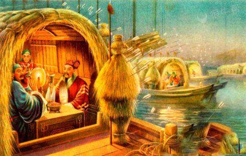 草船借箭被杜蕾斯了,不怕(曹)操,随便射~