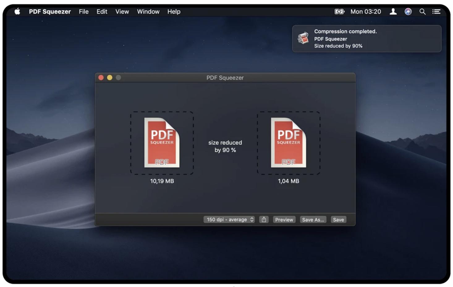 PDF Squeezer 4.0.2 PDF压缩工具-马克喵