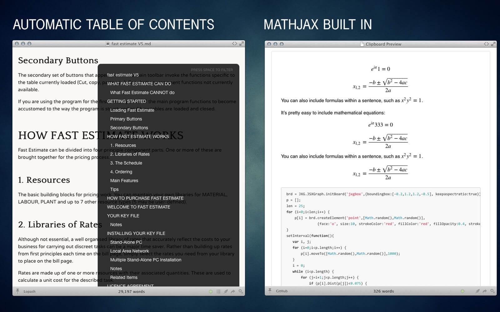 Marked 2.5.42 优秀的Markdown预览工具-马克喵