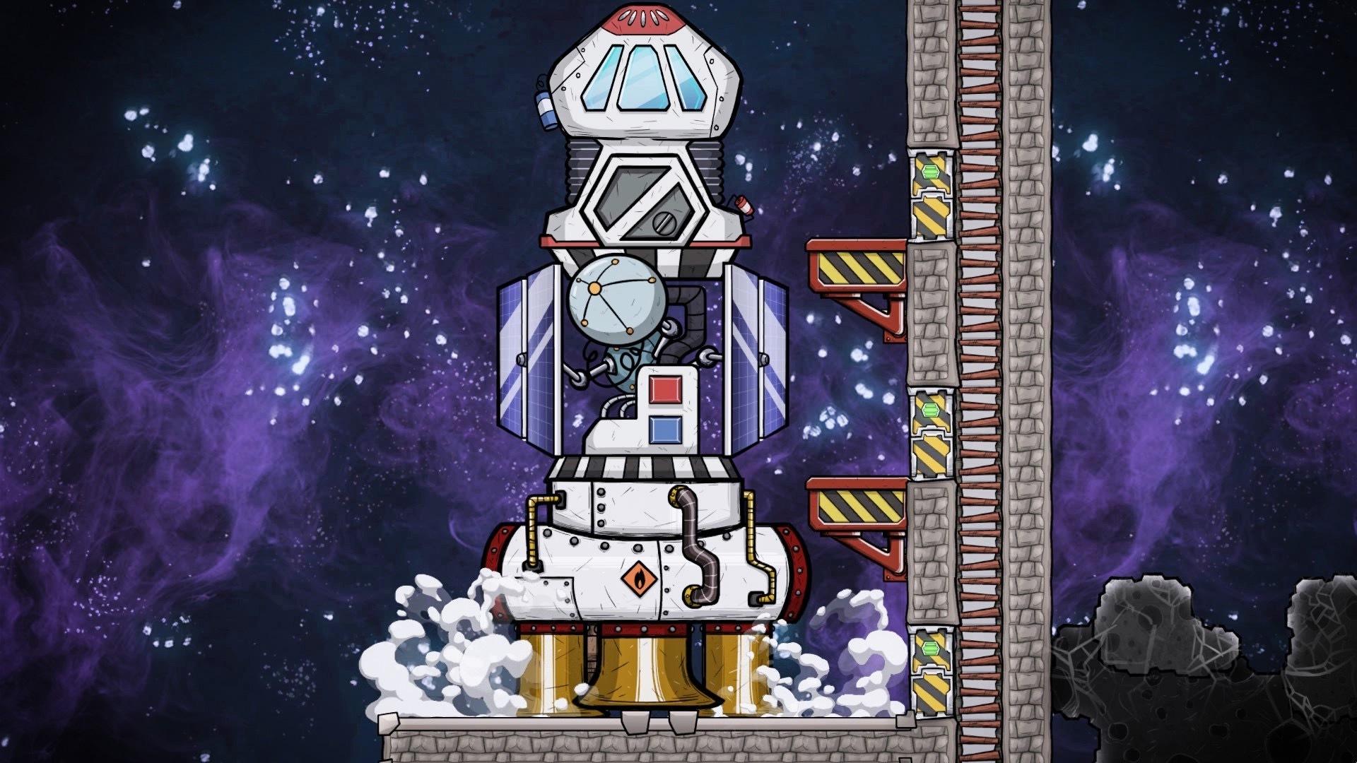 超级好玩的模拟建造生存游戏-缺氧(Oxygen Not Included) v399948-马克喵