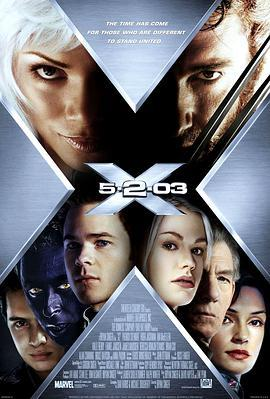 X战警2的海报