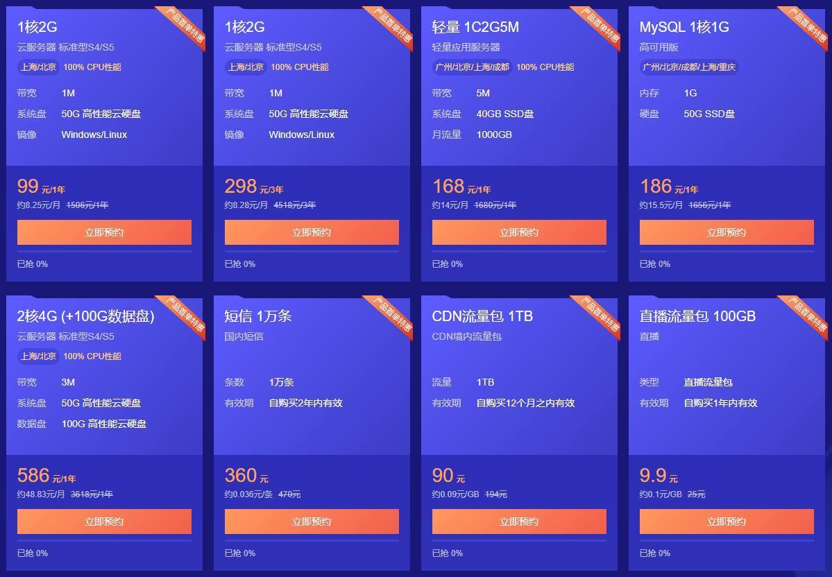 """021年2月阿里云与腾讯云便宜云服务器推荐"""""""