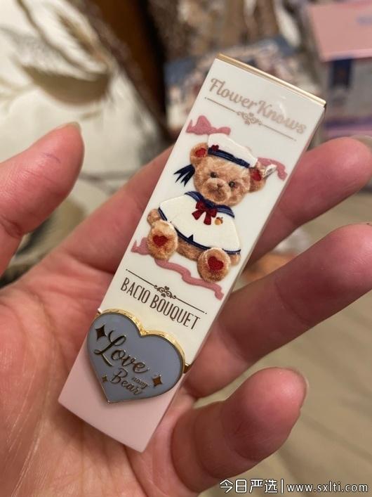 花知晓是哪个国家的彩妆品牌,花知晓泰迪熊口红,花知晓泰迪熊口红怎么样