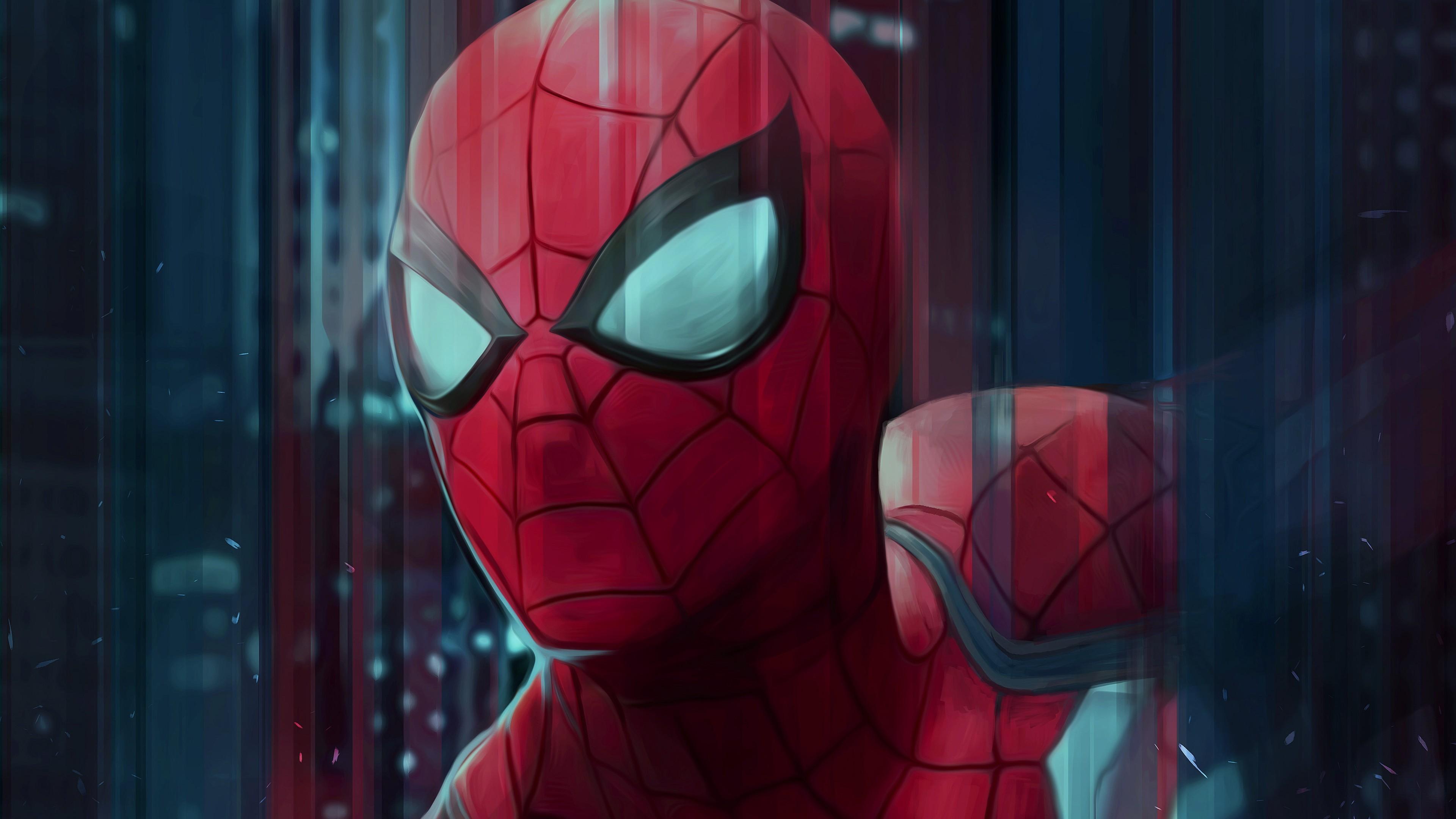 蜘蛛侠艺术品4K壁纸