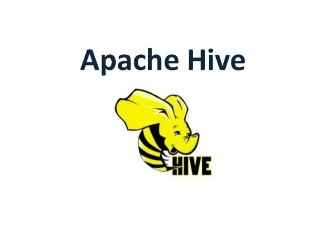 2020 最新版大数据 Hive 核心技术课程