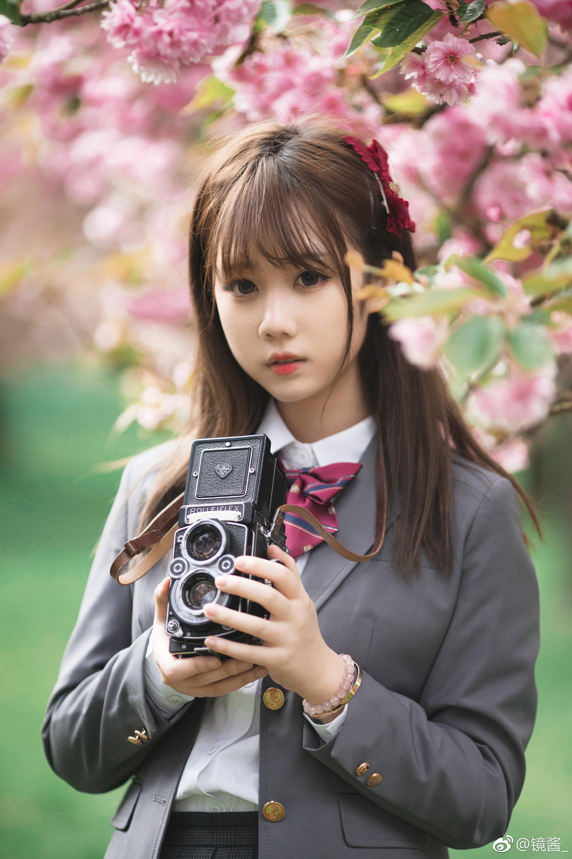 樱花jk制服写真