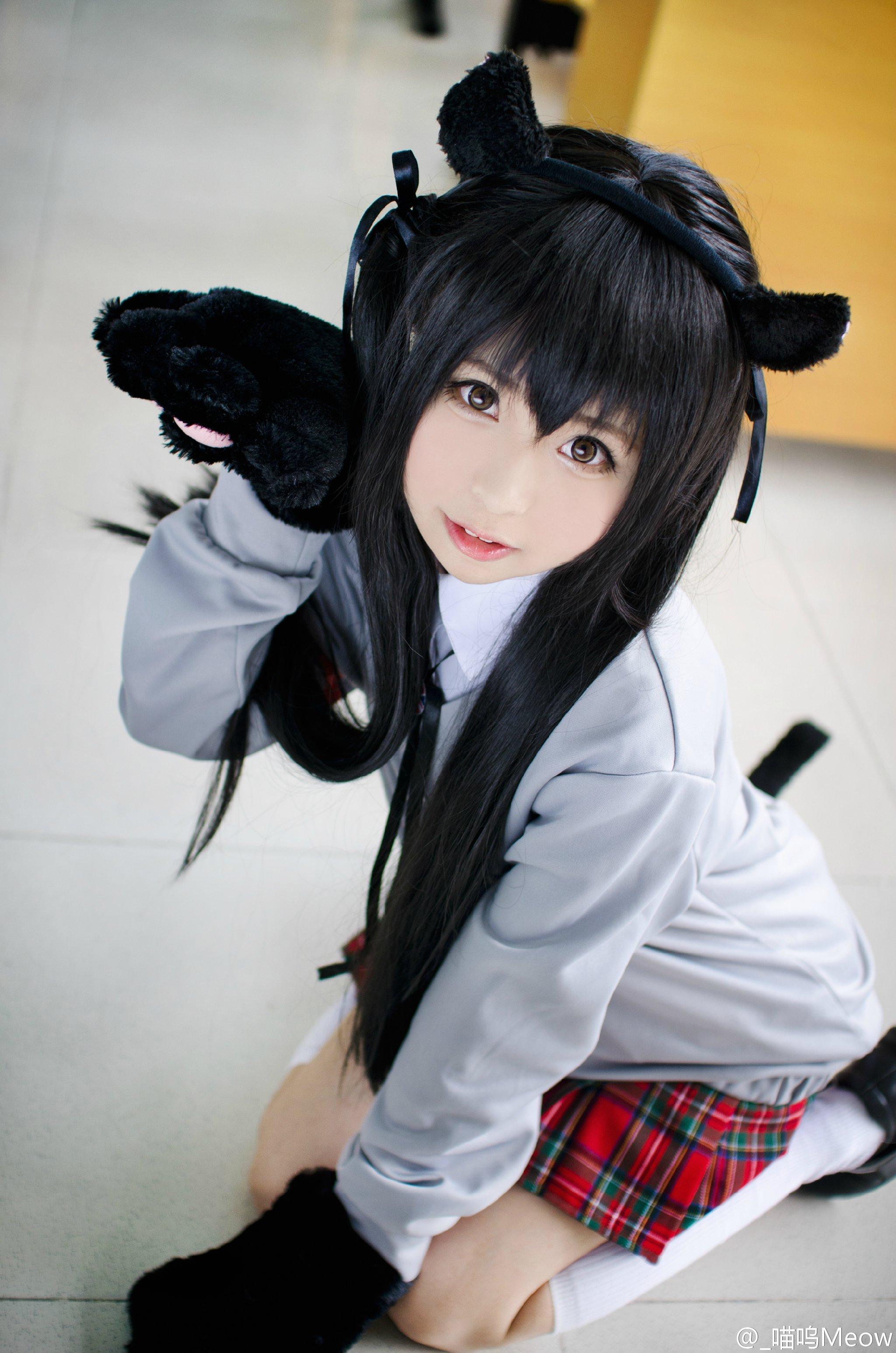 【贫乳才是王道】148cm超萌萝莉「喵呜Meow」激起宅男们绅士之魂!