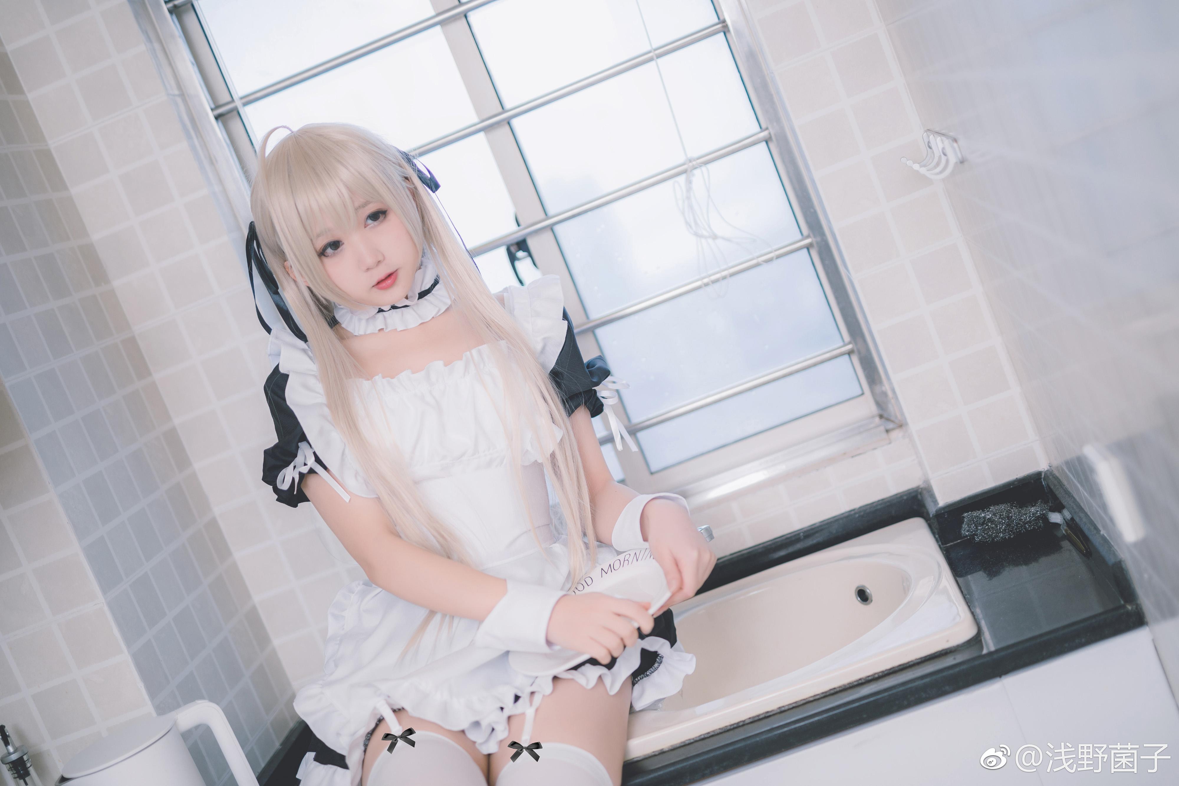 女仆装的穹妹喜欢吗?