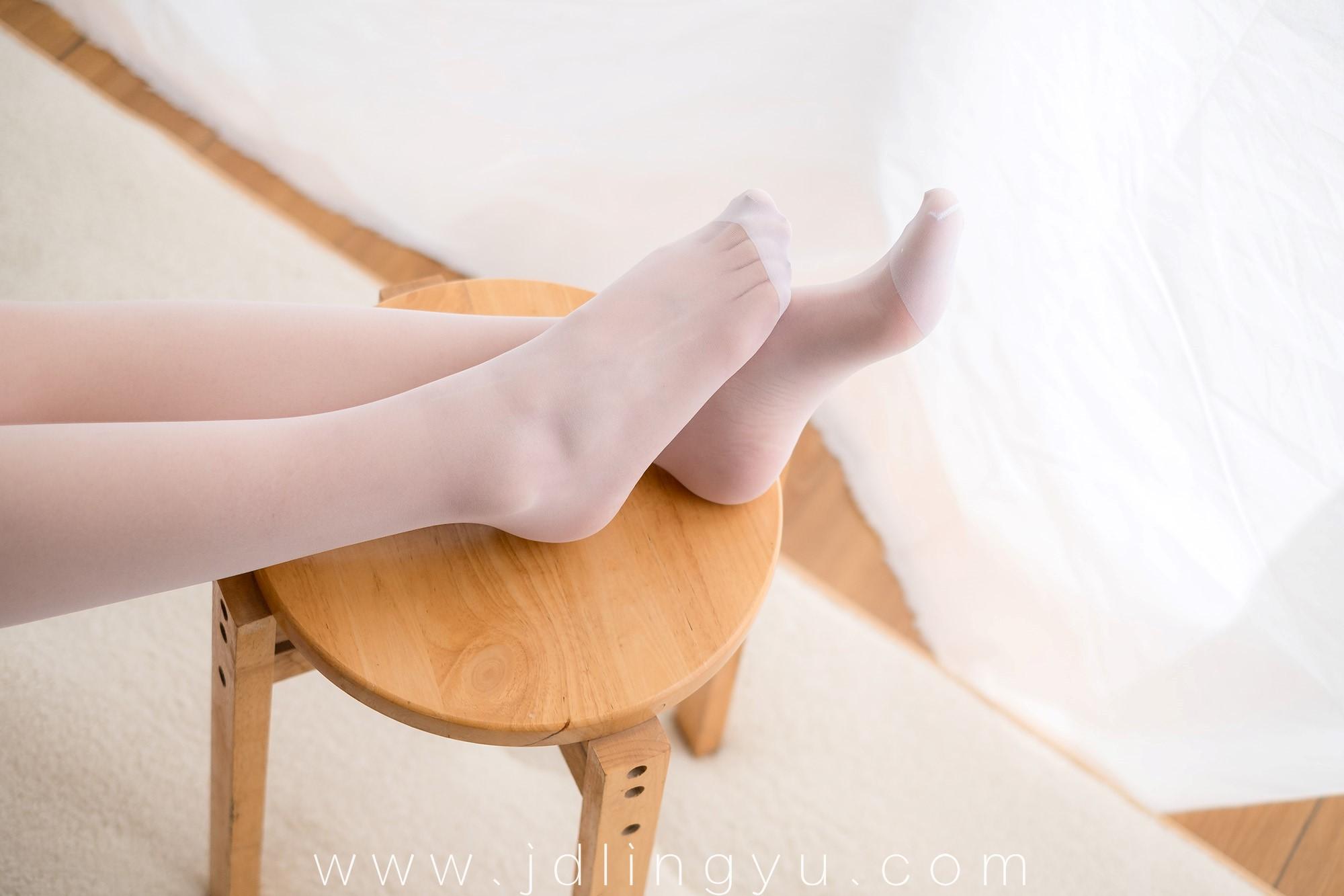 [喵写真] R15-021 丝袜百褶裙2
