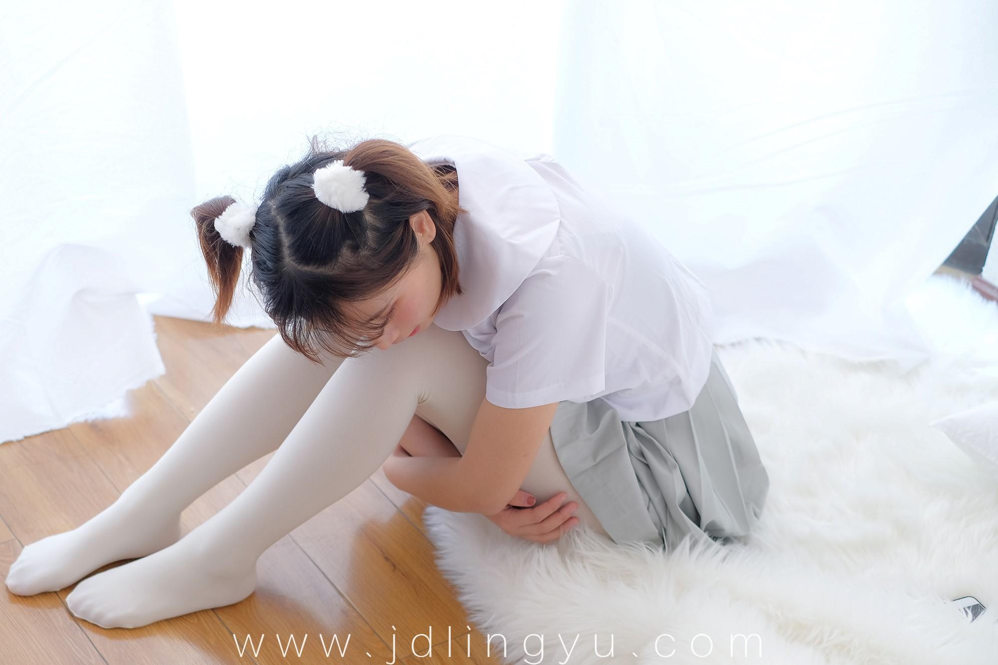 [喵写真] R15-026 丝袜百褶裙5