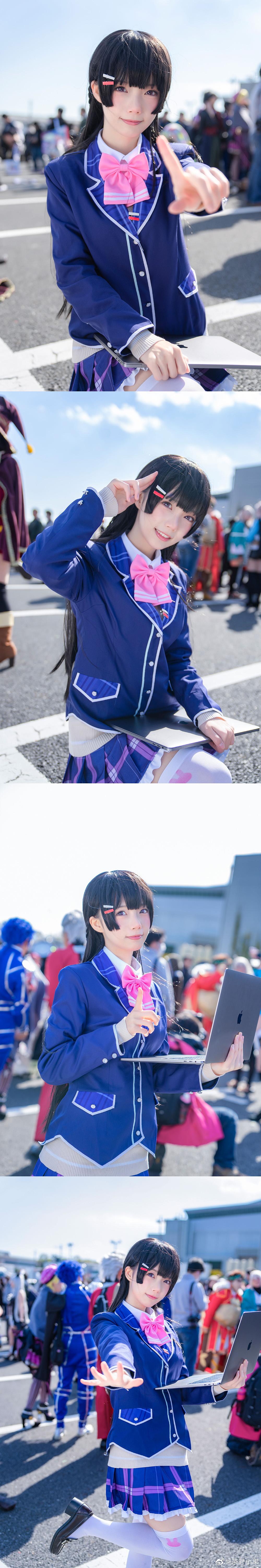 月ノ美兎 cos插图7