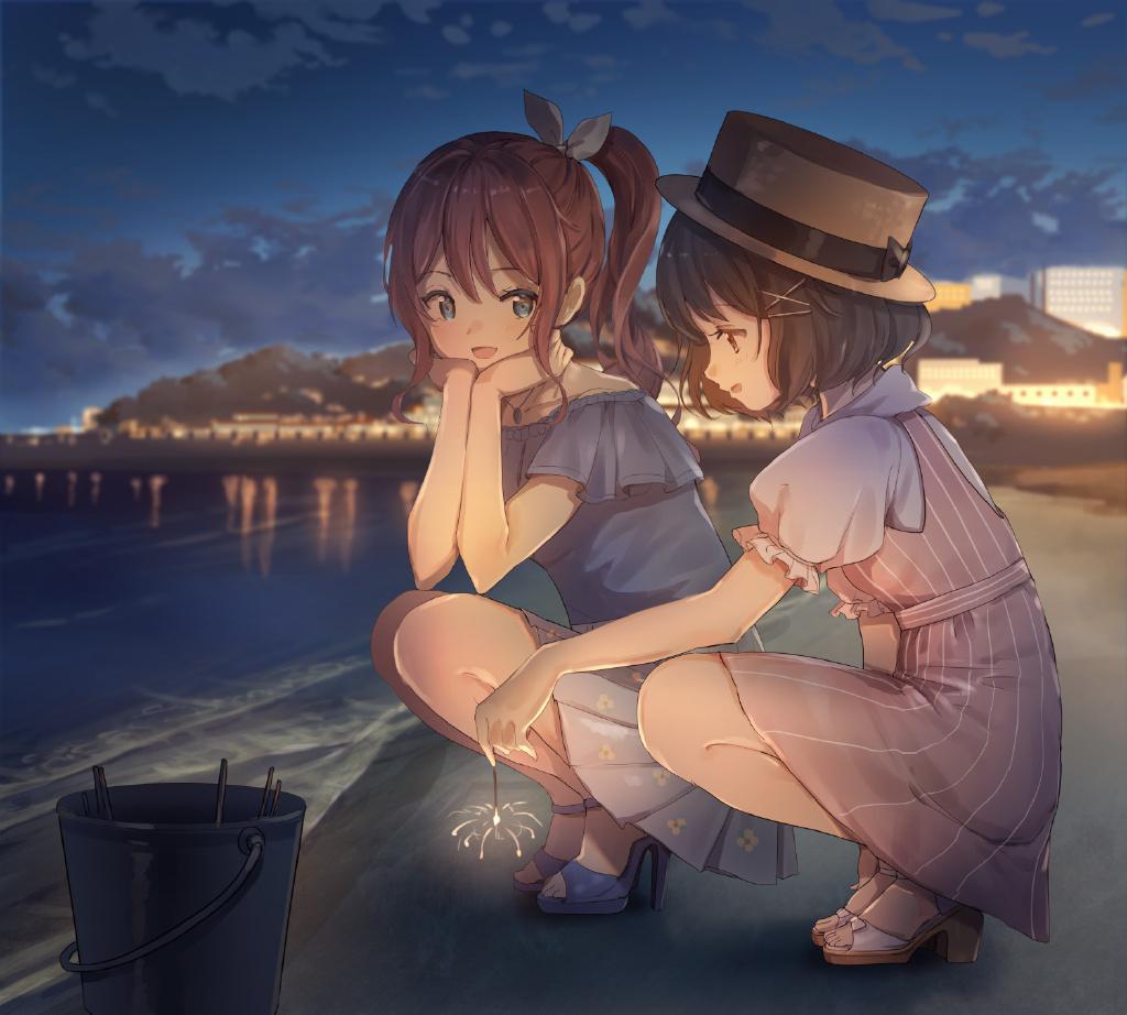 P站精选&我喜欢可爱的女孩子!日本画师乃木的插画作品-Zhaiuu.Com-宅尤尤