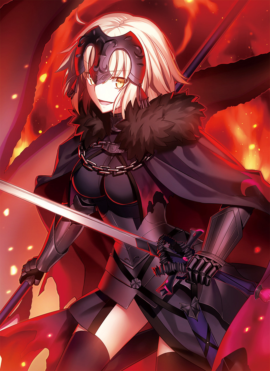P站精选&龙之魔女《Fate/Grand Order》黑贞德壁纸特辑-Zhaiuu.Com-宅尤尤