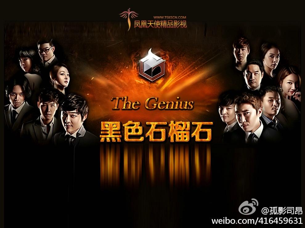 141217 The Genius 黑色石榴石 E12 中字