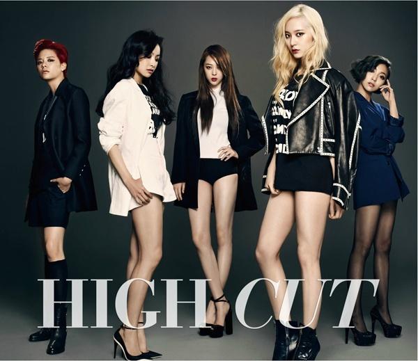 韓國女子組合f(x)最新時尚雜誌寫真曝光