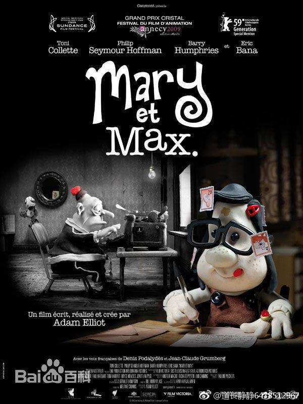 2009高分动画喜剧《玛丽和马克思》BD720P.中英双字