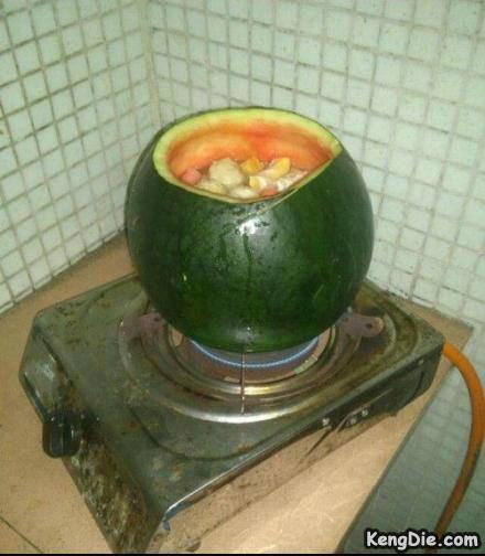 西瓜真的可以煮热么