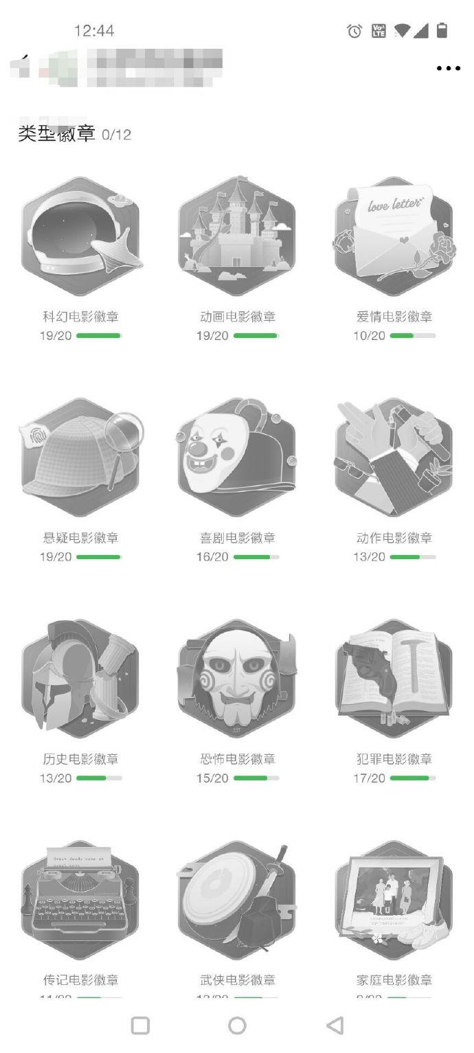 豆瓣电影勋章上线更新,类型片补完计划!插图(1)