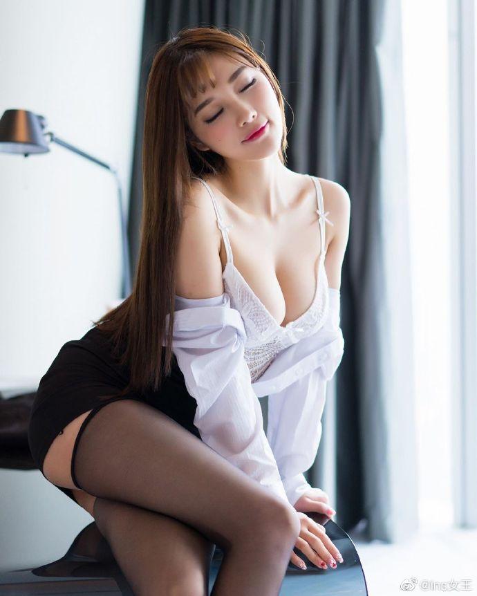 模特杨晨晨OL性感写真图片 性感美女 美女图片 第9张