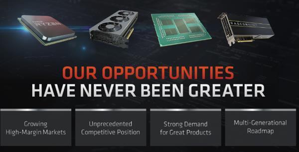 我有7nm我骄傲 AMD对扩大CPU、显卡份额充满信心