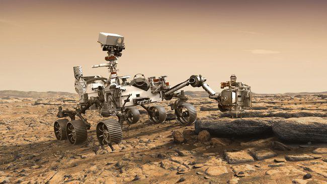 人类首次火星表面高清视频,人类的一大步