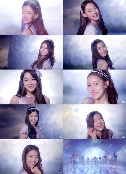 韓新女團gugudan公開全新預告 變身人魚公主