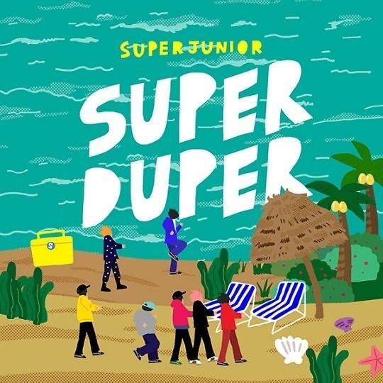SuperJunior本月23日发先行曲《Super Duper》为回归预热