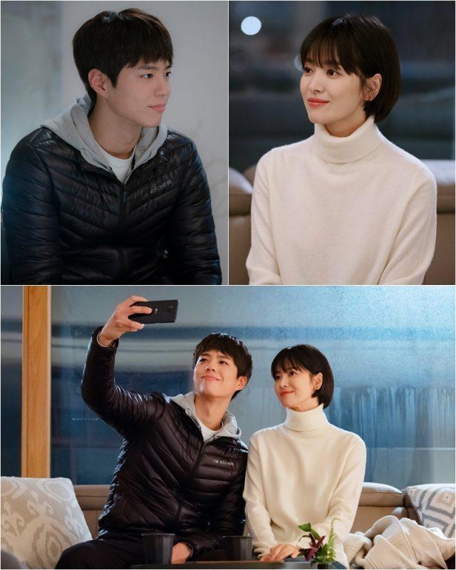 """《男朋友》宋慧乔-朴宝剑,深情自拍…""""温馨的两人时光"""""""