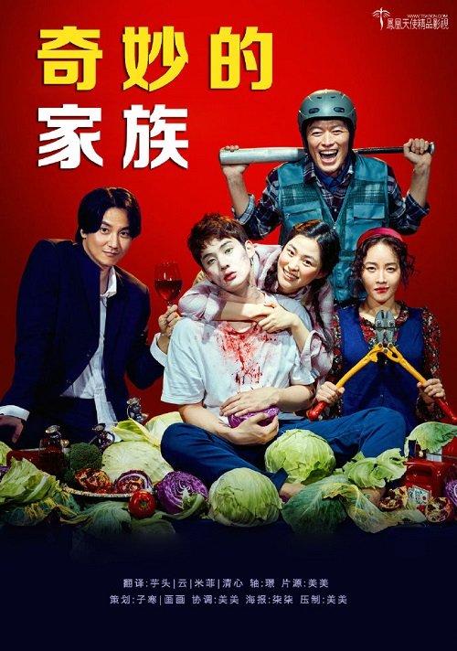 韓國電影《奇妙的家族》韓語中字下載
