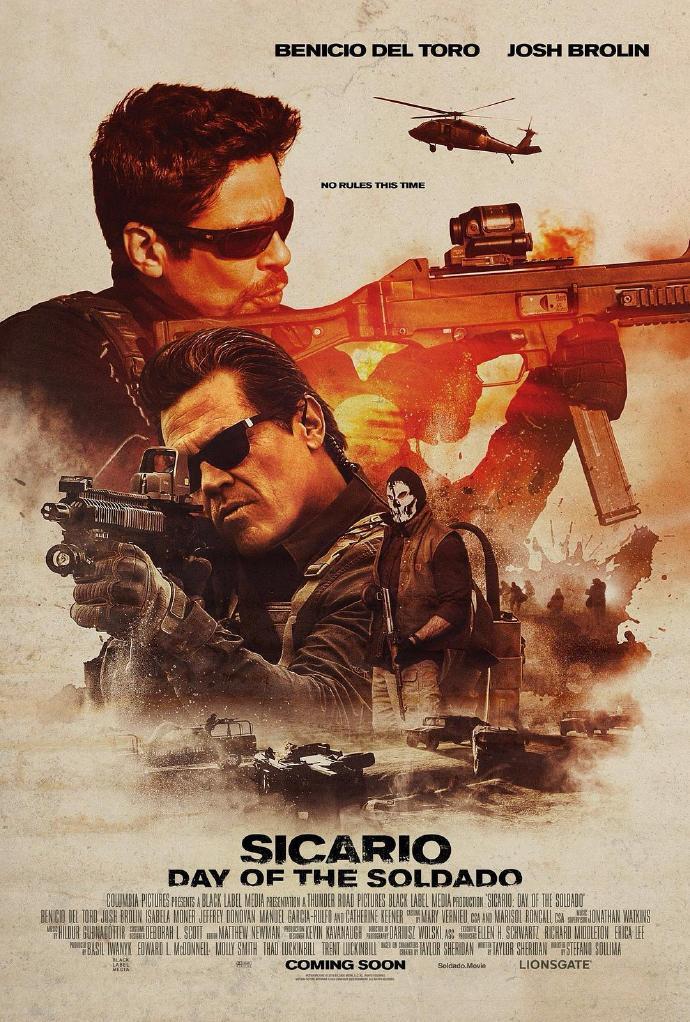 邊境殺手2:邊境戰士 Sicario: Day of the Soldado