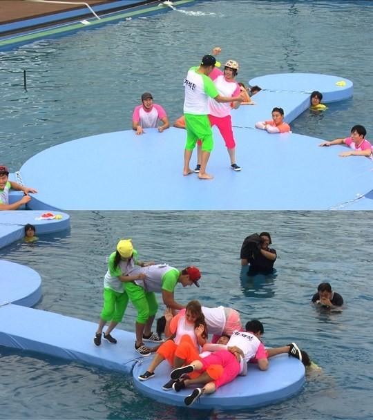 "2NE1出演《Running Man》""外星人入侵地球""特輯"