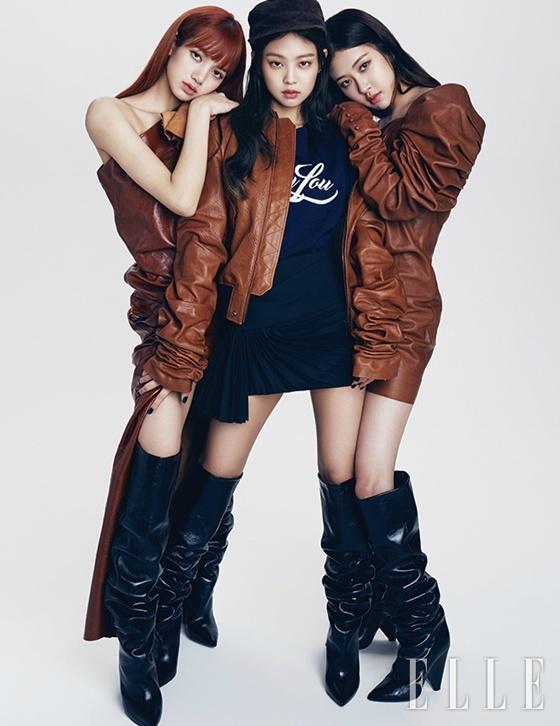 BLACKPINK 登上時尚雜誌封面..強烈的視覺外貌