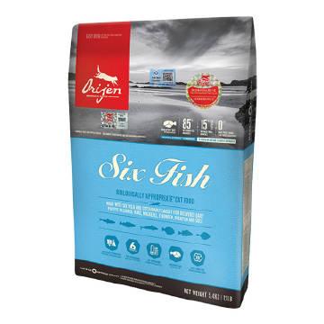 【直营】渴望无谷六种鱼猫粮5.4kg...
